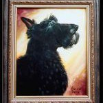 Dog from the Animal Oil Portrait Gallery