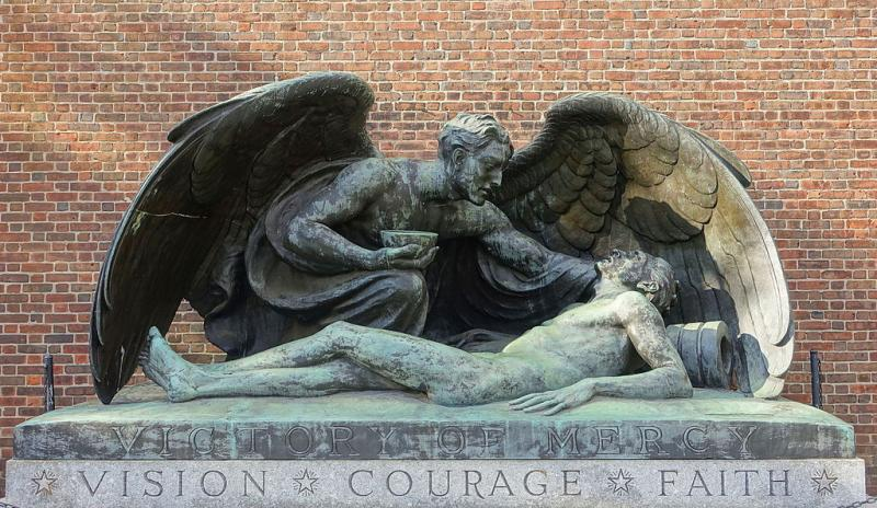 Victory of Mercy by Evelyn Beatrice Longman - Loomis Chaffee School - Windsor, Connecticut