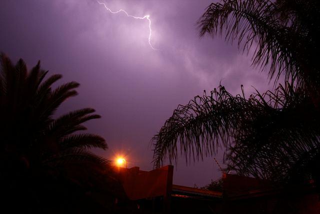 Lightning and light